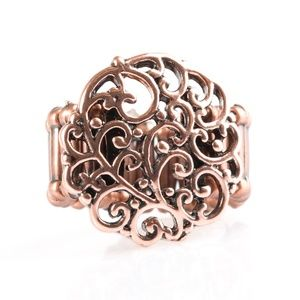 Thrills and Frills - Copper Ring